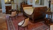 L'appartement de l'Empereur remeublé au château de Rambouillet.