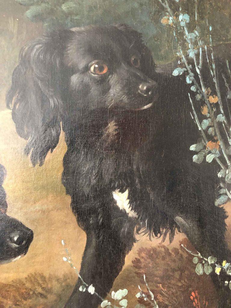 Fontainebleau : expo J-B Oudry et les chiens de Louis XV Hermine-768x1024-1