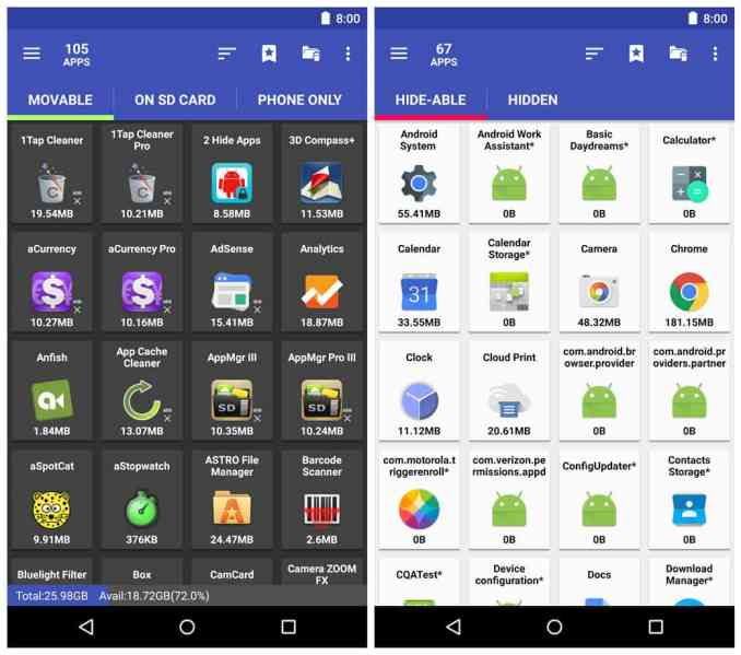 AppMgr Pro III (App 2 SD) 4.27 APK for Android | Free Download