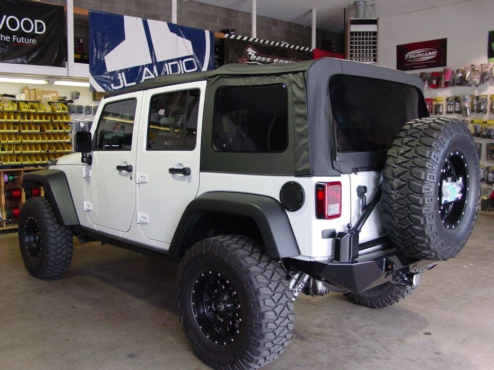 Jeep Audio Upgrade