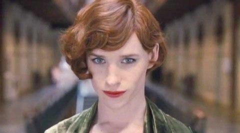 Eddie Remayne as Transgender 'The Danish Girl'