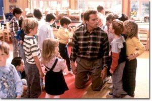 Arnold Schwarzenegger in Kindergarten Cop