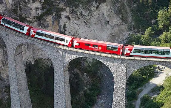 Pros and Cons for Travel on the Glacier Express vs Local Swiss Trains