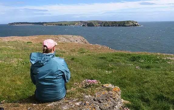 Manorbier to Tenby Pembrokeshire Coast Path