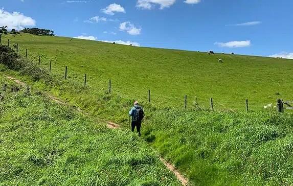 Manorbier to Bosherston on the Pembrokeshire Coast Path