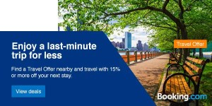 Find last minute travel deals near you. Travel local