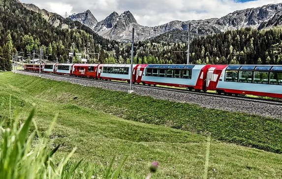 Glacier Express Train Switzerland Story