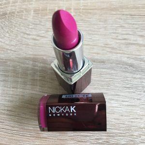 nicka-k-lippenstift-pink-offen-probenqueen
