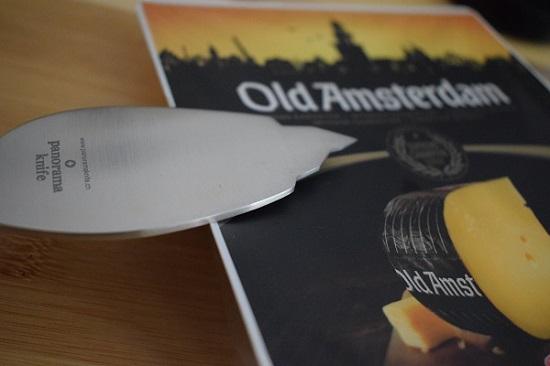 Panoramaknife Klinge auf Old Amsterdam Probenqueen