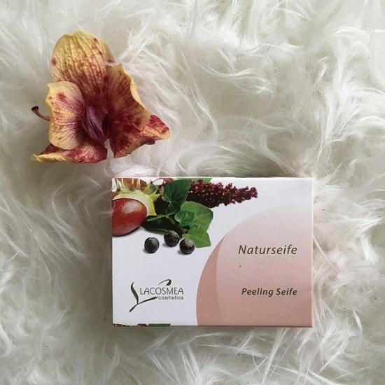 Lacosmea Naturseifen Peelingseife Probenqueen