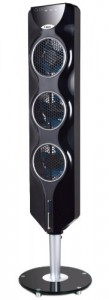 7. Ozeri 3x Tower Fan with Passive Noise Reduction Technology