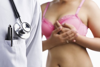 Douloureuse dans la poitrine pendant la menstruation
