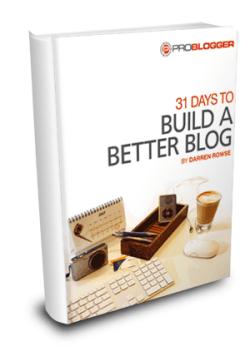31 Days to a Better Blog