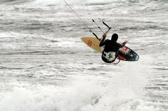 Kitesurfen Ostseebad Goehren Insel Ruegen 12