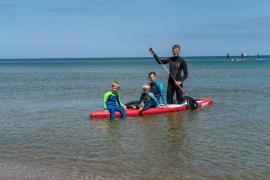 SUP Familien Wassersport