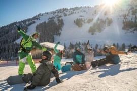 Snowboarden Mayrhofen Zillertal 2017 02