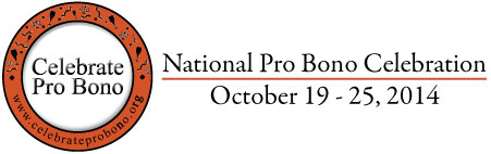 Celebrate Pro Bono 2014 image badge large