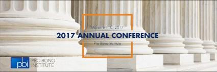 2017 PBI Annual Conference | Pro Bono Institute