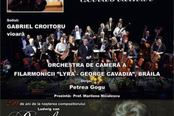 Concert Simfonic Extraordinar organizat de Filarmonica Lyra la Teatrul Maria Filotti