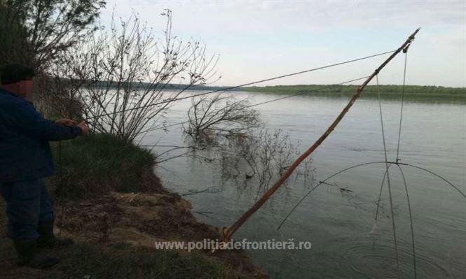 Vânătoare de braconieri pe Dunăre