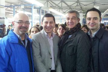 Presedintele PNTCD Braila, Laurentiu Chiru, a anuntat oficial ca il sustine pe Fusea Marian Paul