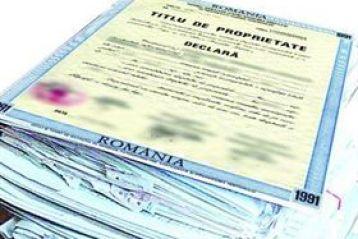 In judetul Braila s-au emis peste 100.000 titluri de proprietate de la inceputul aplicarii legilor proprietatii