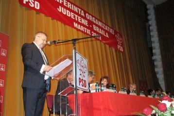 Stancu, reales in unanimitate presedintele PSD Braila pentru urmatorii patru ani