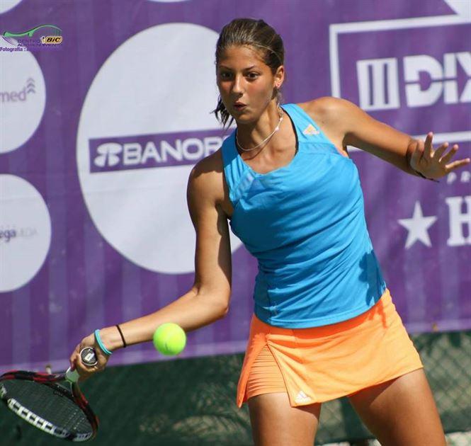 Braileanca Georgia Craciun s-a oprit in optimile Campionatului european de junioare u18