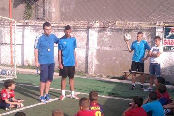Jucatori de la Braila in varful fotbalului juvenil romanesc