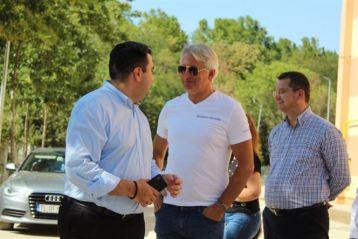 Miniștrii Cuc și Teodorovici au vizitat din nou lucrările la podul peste Dunăre