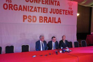 Mihai Tudose ales președinte al PSD Brăila cu unanimitate de voturi
