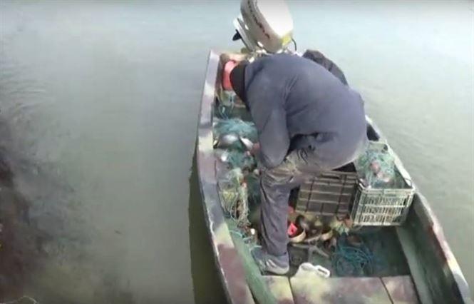 """Braconieri """"pescuiți"""" de jandarmii brăileni"""