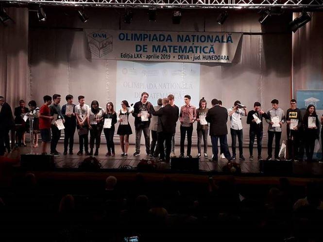Două medalii de bronz la Olimpiada Națională de matematică pentru elevii brăileni
