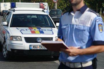Beat si cu permisul de conducere suspendat, un brailean a provocat un accident