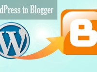 How to Import Wordpress Blogs on Blogger