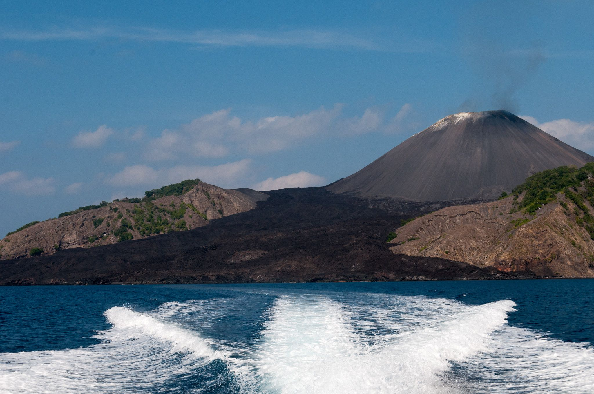 India S Only Active Volcano Erupted Last Month How Much Do You Know About It