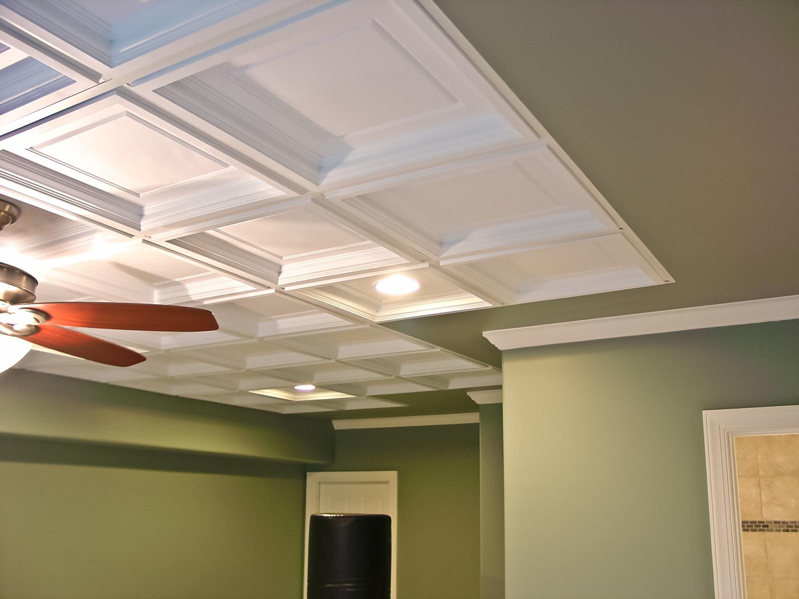 madison ceiling tile white