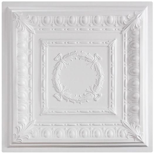 empire ceiling tile white