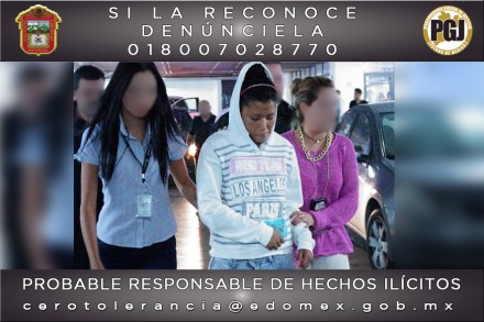 La presunta degolladora de Chimalhuacán