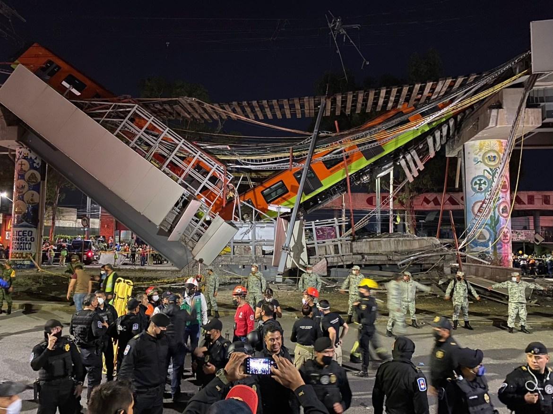Colapsa estructura del Metro y cae tren con pasajeros en la Línea 12; hay 20 muertos y 70 heridos - Proceso