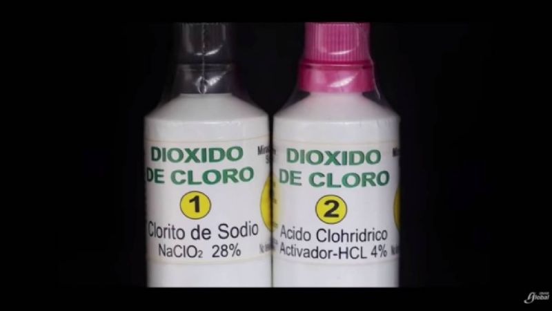 El dióxido de cloro es tóxico, alerta experto de la UNAM