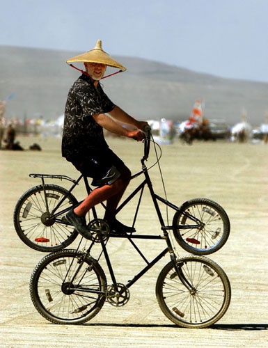 Burning Man DIY fair