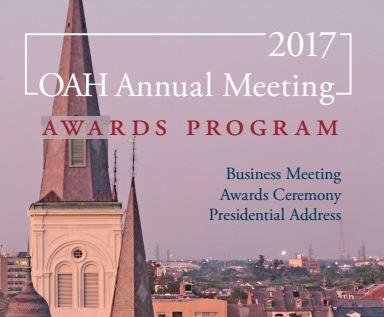 OAH 2017 Awards