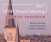 OAH 2017 Awards