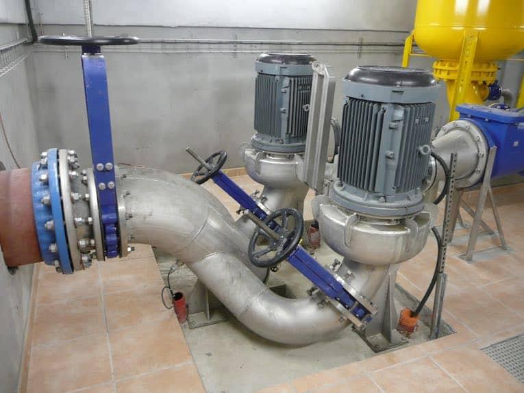 C&B Water pump - wastewater clogging problems