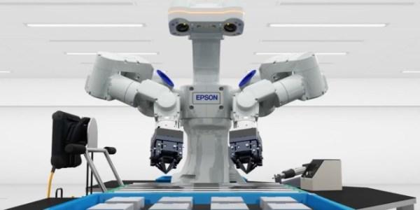 Epson dual arm robot