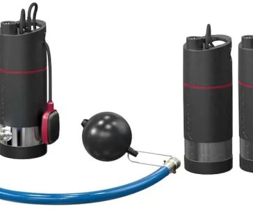SB-SBA submersible booster pumps