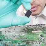 instalar placa base de microchip