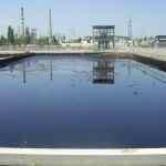 oil sludge lagoon