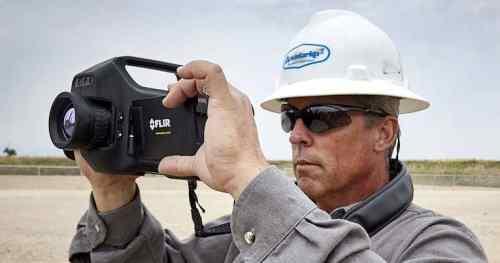 cámaras de detección de metano